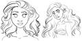 Moana Character 设计