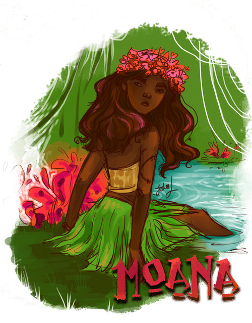 Moana Fanart