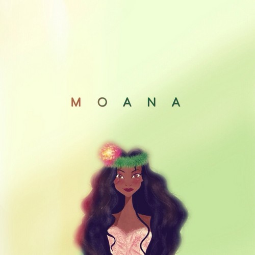 Moana 壁纸 entitled Moana Waikaliki
