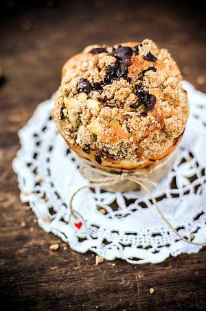 focaccina, muffin