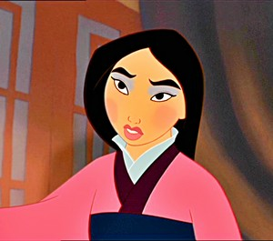Mulan's Doll-Face look