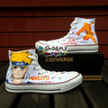 Naruto Pure Hand Painted Converse Canvas Shoes