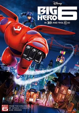 New Big Hero 6 Poster