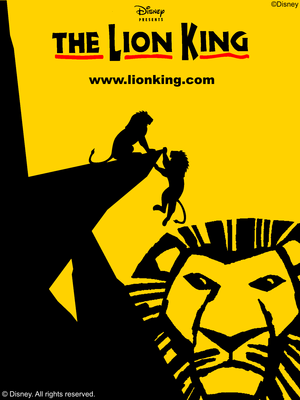 New Lion King Broadway Musical Poster