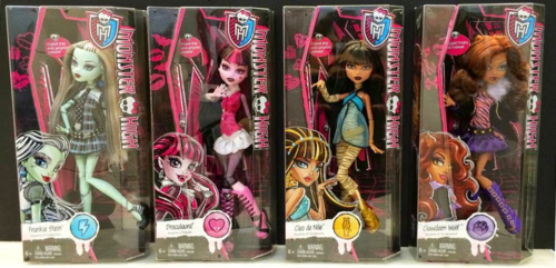 Monster High پیپر وال possibly with عملی حکمت titled New MH Basics Dolls