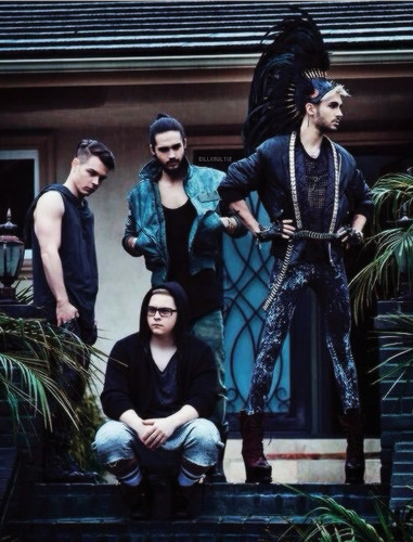 Tokio Hotel वॉलपेपर possibly containing an outerwear, a well dressed person, and a surcoat, सुरकोट entitled New Photoshoot