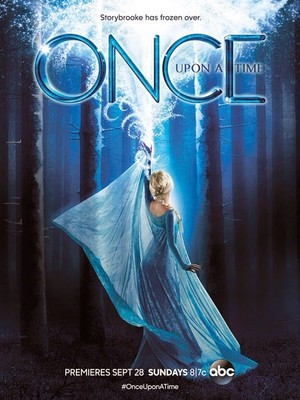 New Season 4 Once Upon A Time Poster featuring Elsa