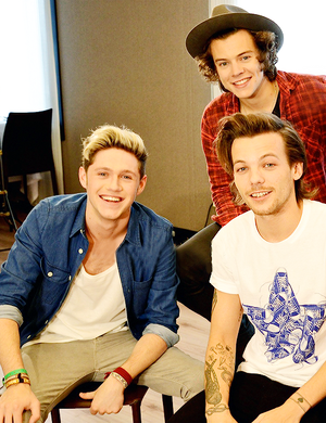 Niall, Harry and Louis