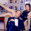 Frasier photo possibly with a portrait entitled Niles and Daphne