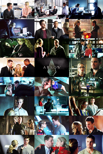 Oliver & Felicity Hintergrund called One kappe Per Episode: Oliver x Felicity Edition [Season 1]