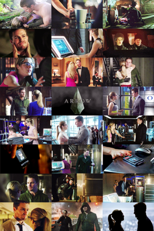 One टोपी Per Episode: Oliver x Felicity Edition [Season 2]
