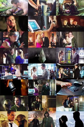 Oliver & Felicity Hintergrund entitled One kappe Per Episode: Oliver x Felicity Edition [Season 2]