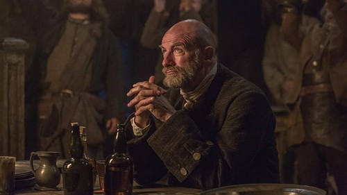 Outlander 2014 TV Series پیپر وال probably with a ڈرمر called Outlander - 1x07 - The Wedding