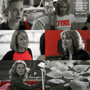 P Sawyer red