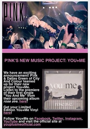 P!nk's New Musica Project