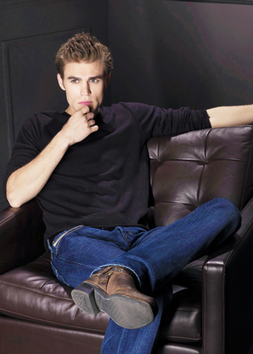 Paul Wesley wallpaper probably containing a recliner entitled Paul Wesley