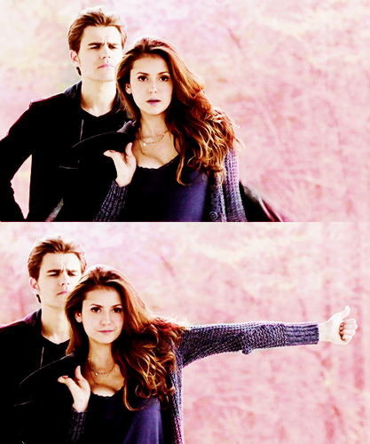 Paul Wesley and Nina Dobrev images Paul and Nina wallpaper ...