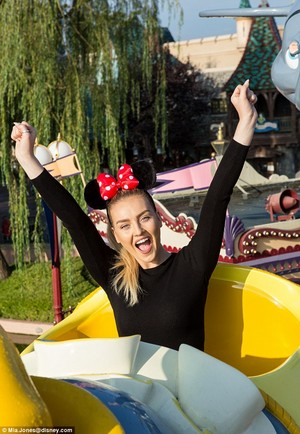Perrie at Disneyland Paris! ♥