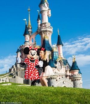 Perrie at Disneyland Paris! ♥