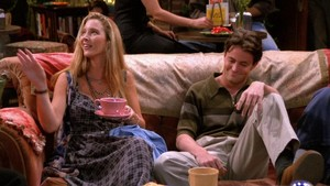 Phoebe and Chandler
