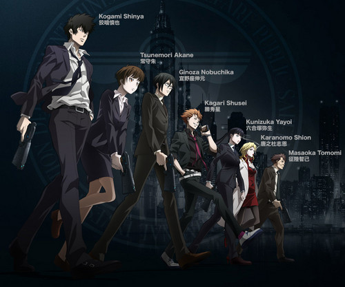 Psycho-Pass 壁紙 possibly containing a business suit and a コンサート titled Psycho pass