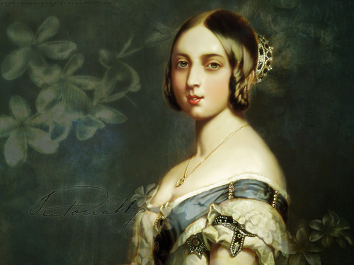 Women in History wallpaper possibly with a breastplate entitled Queen Victoria