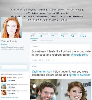 Rachel Leslie's twitter!