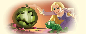 Rapunzel and Pascal