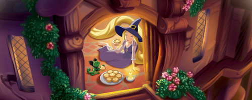 Tangled wallpaper titled Rapunzel and Pascal