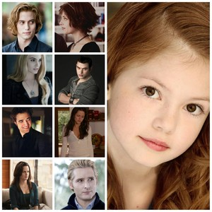 Renesmee and the Cullens