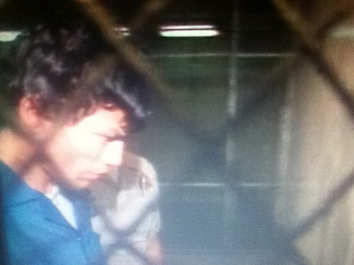 Serial Killers Hintergrund with a chainlink fence called Richard Ramirez