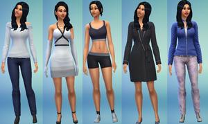 Rikki Daniels Sims 4 style
