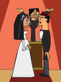 Rikki and Duncan Wedding 2 - total-drama-island-fancharacters photo