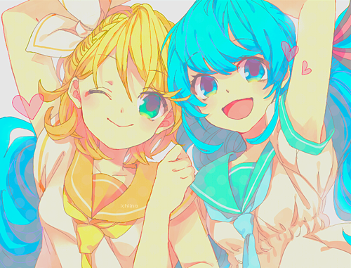 Rin and Miku tumblr