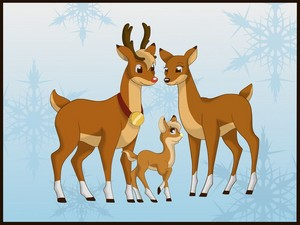 Rudolph, Zoey and Thunder