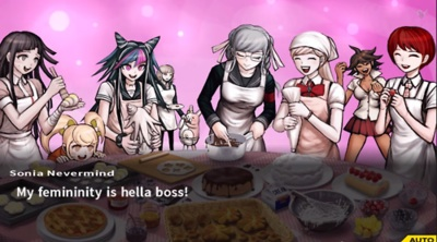Dangan Ronpa वॉलपेपर containing ऐनीमे entitled SDR2 Screencap