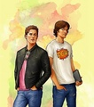 Sam and Dean Winchester - the-winchesters fan art