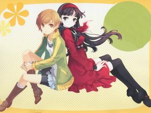 Satonaka Chie and Amagi Yukiko | Shin Megami Tensei: Persona 4