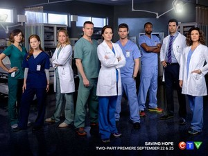 Saving Hope - Season 3 - Cast Promotional Picture
