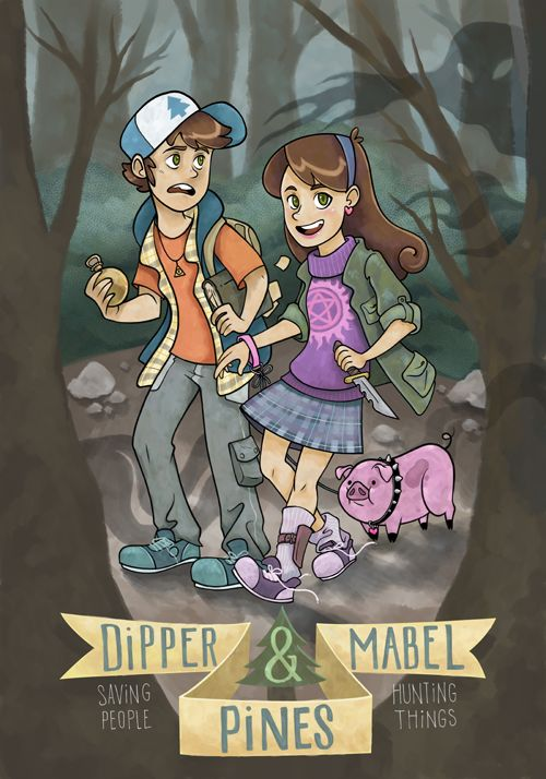 Gravity Falls Fan Stories Images Saving People Hunting Things The