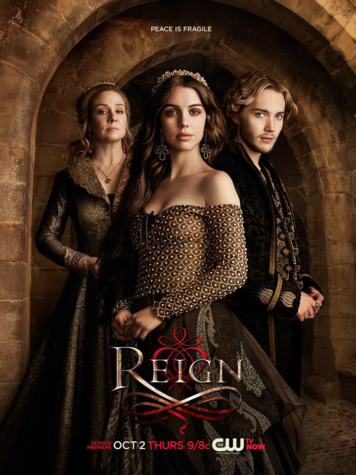 Reign tv Show Poster tv Show Season 2 Poster