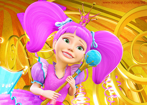 Barbie Movies wallpaper titled Secret Door - Princess Malucia
