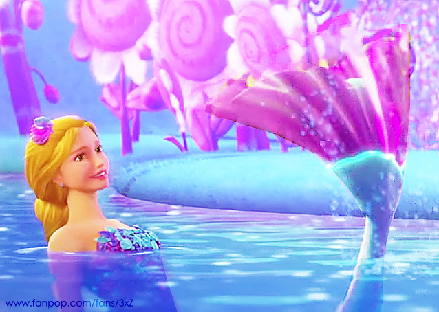 Barbie movies secret door romy the mermaid