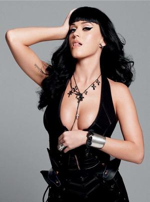 Katy Perry kertas dinding with attractiveness and a bustier entitled Sexy Katy perry