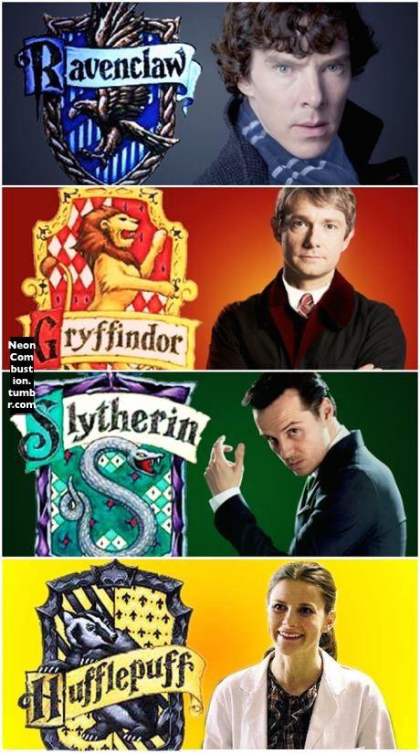 Sherlock + Harry Potter