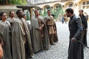 Sir Ansgar With The Paladins