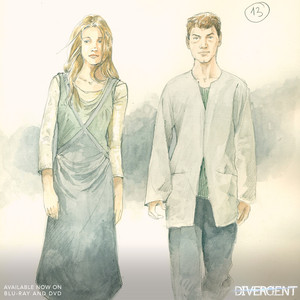 Sketch of dress attire (abnegation)