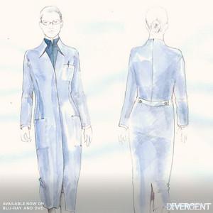 Sketch of dress attire (erudite)