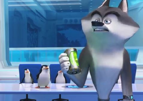 "Penguins of Madagascar wallpaper titled Skipper - ""You didn't steal that!"""