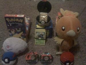 Some Pokemon Merchandise